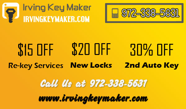 Irving Key Maker TX Coupon